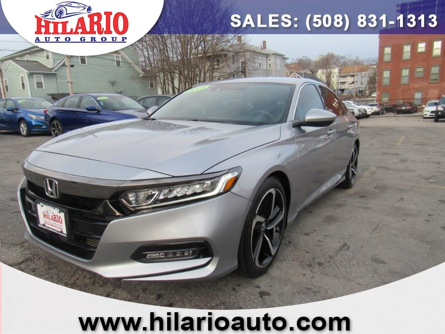 Used 2018 Honda Accord Sedan in Worcester, Massachusetts | Hilario's Auto Sales Inc.. Worcester, Massachusetts