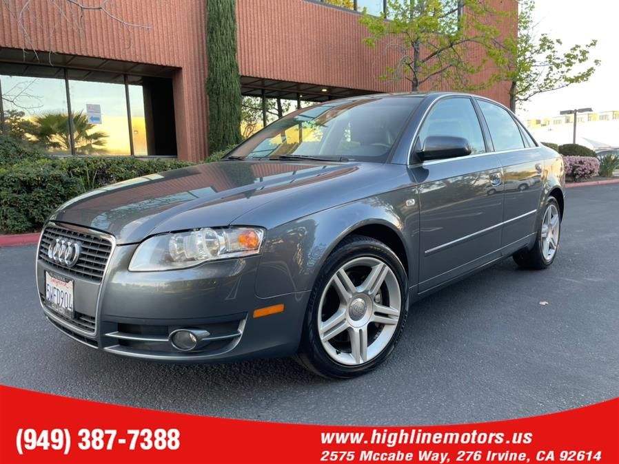 Used Audi A4 2007.5 4dr Sdn Man 2.0T FrontTrak 2007 | High Line Motors LLC. Irvine, California