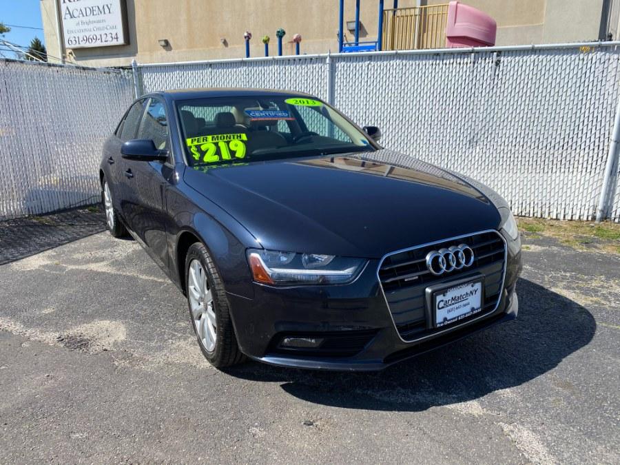 Used Audi A4 4dr Sdn Auto quattro 2.0T Premium 2013 | Carmatch NY. Bayshore, New York