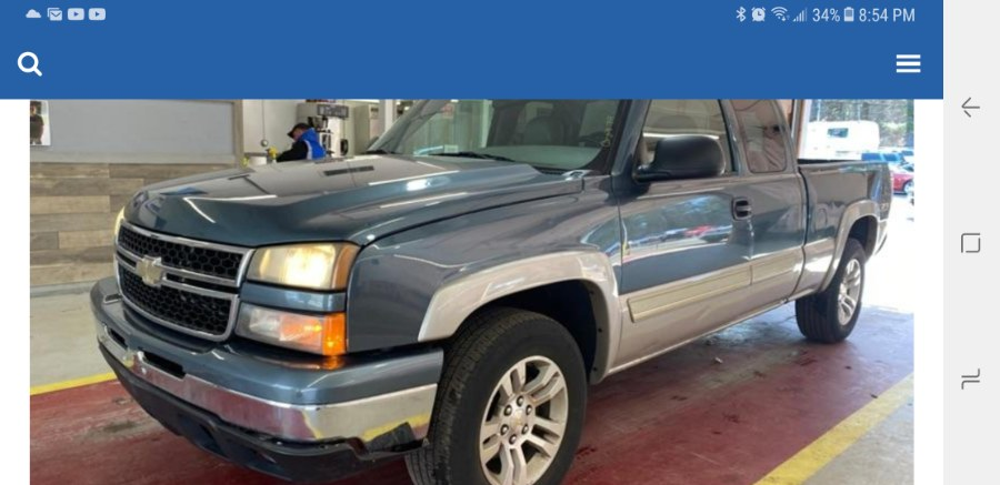 """Used Chevrolet Silverado 1500 Ext Cab 143.5"""" WB 4WD LT1 2006 