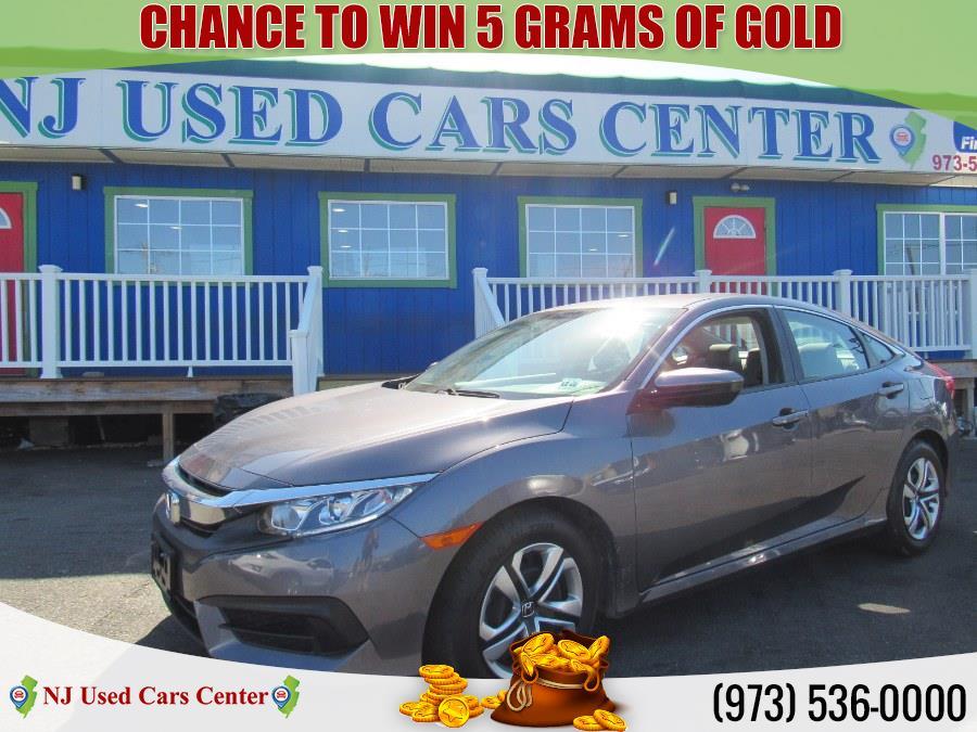 Used Honda Civic Sedan LX CVT 2018 | NJ Used Cars Center. Irvington, New Jersey