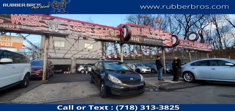 Used 2013 Kia Rio in Brooklyn, New York | Rubber Bros Auto World. Brooklyn, New York