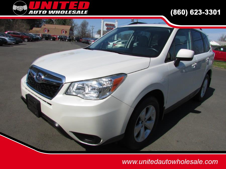 Used Subaru Forester 4dr Auto 2.5i Premium PZEV 2014 | United Auto Sales of E Windsor, Inc. East Windsor, Connecticut