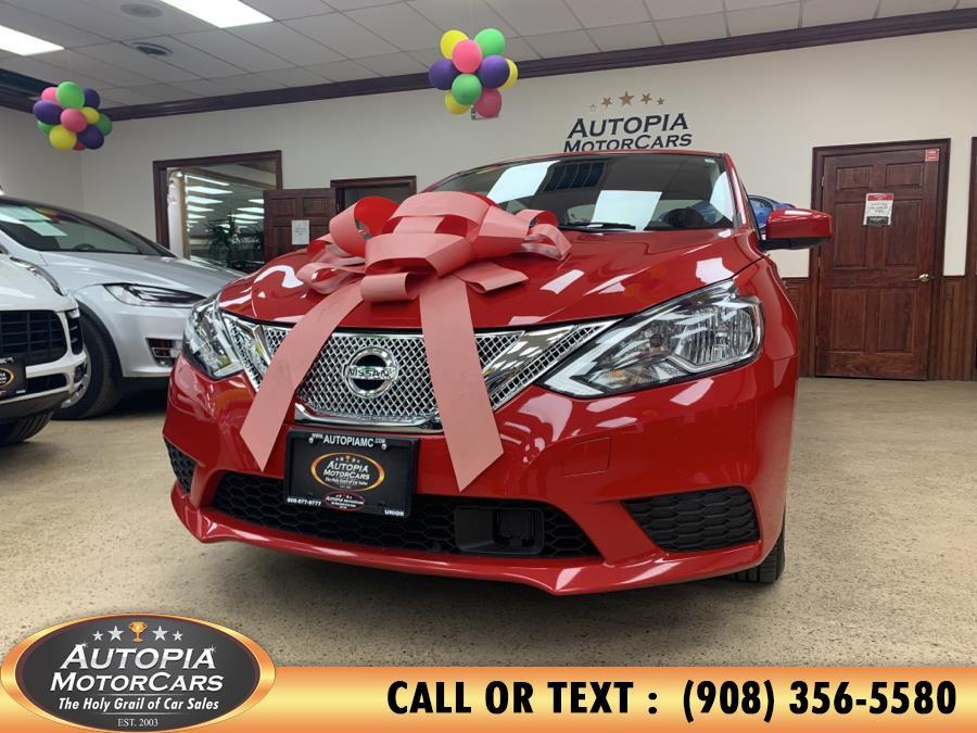 Used Nissan Sentra SV CVT 2018 | Autopia Motorcars Inc. Union, New Jersey