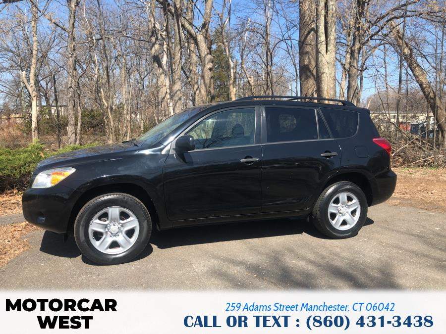 Used Toyota RAV4 4WD 4dr 4-cyl 4-Spd AT 2008 | Motorcar West. Manchester, Connecticut
