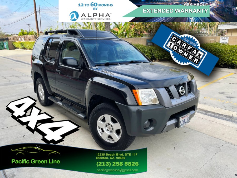 Used Nissan Xterra 4WD 4dr Manual S 2007 | Pacific Green Line. Stanton, California