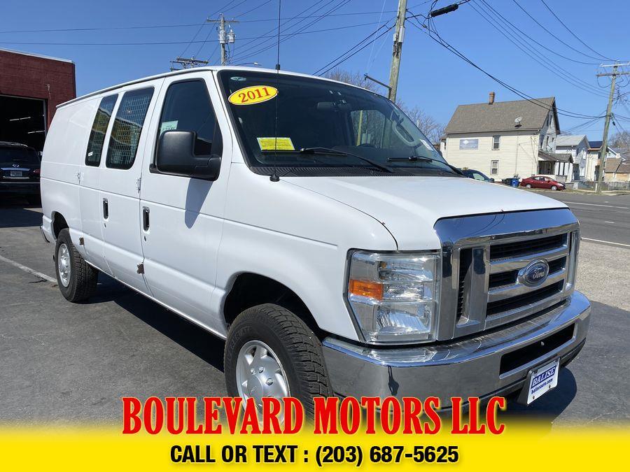 Used Ford E350 Super Duty Cargo Van 3D 2011 | Boulevard Motors LLC. New Haven, Connecticut