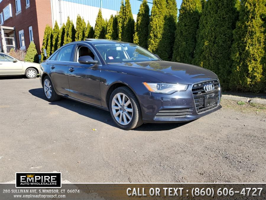Used 2014 Audi A6 in S.Windsor, Connecticut | Empire Auto Wholesalers. S.Windsor, Connecticut