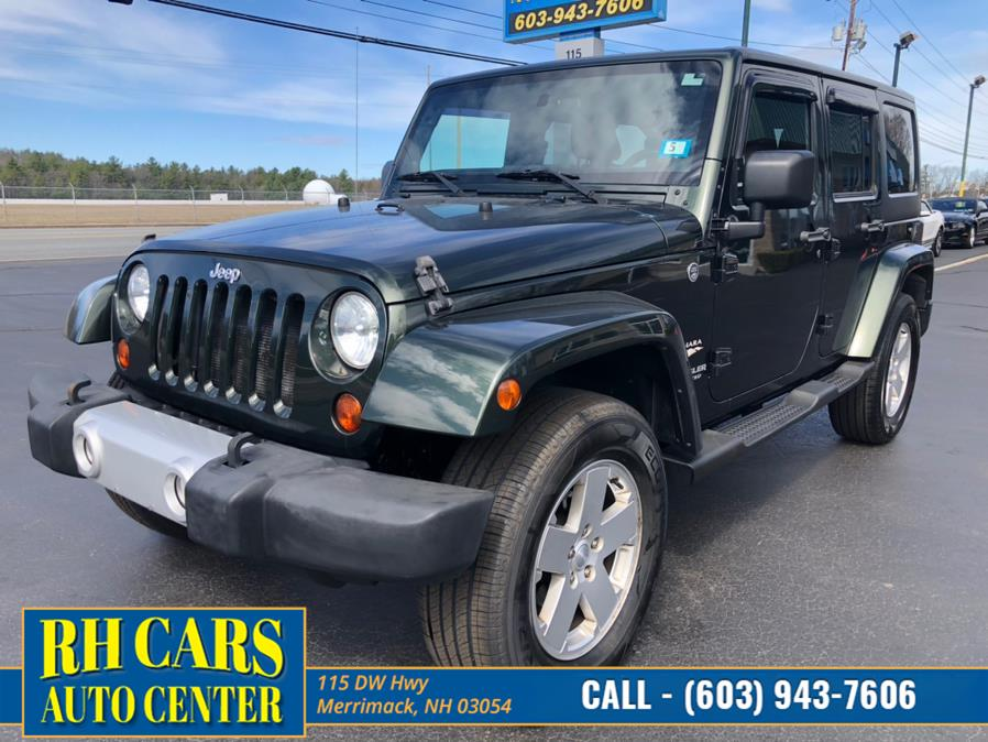 Used Jeep Wrangler Unlimited Sahara 4WD 2011 | RH Cars LLC. Merrimack, New Hampshire