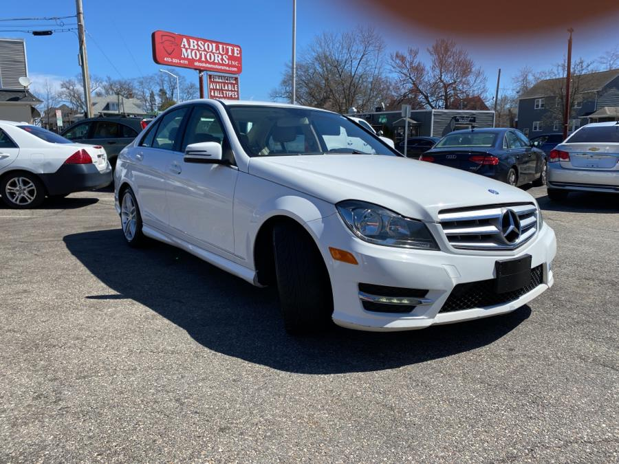 Used Mercedes-Benz C-Class 4dr Sdn C300 Sport 4MATIC 2013 | Absolute Motors Inc. Springfield, Massachusetts