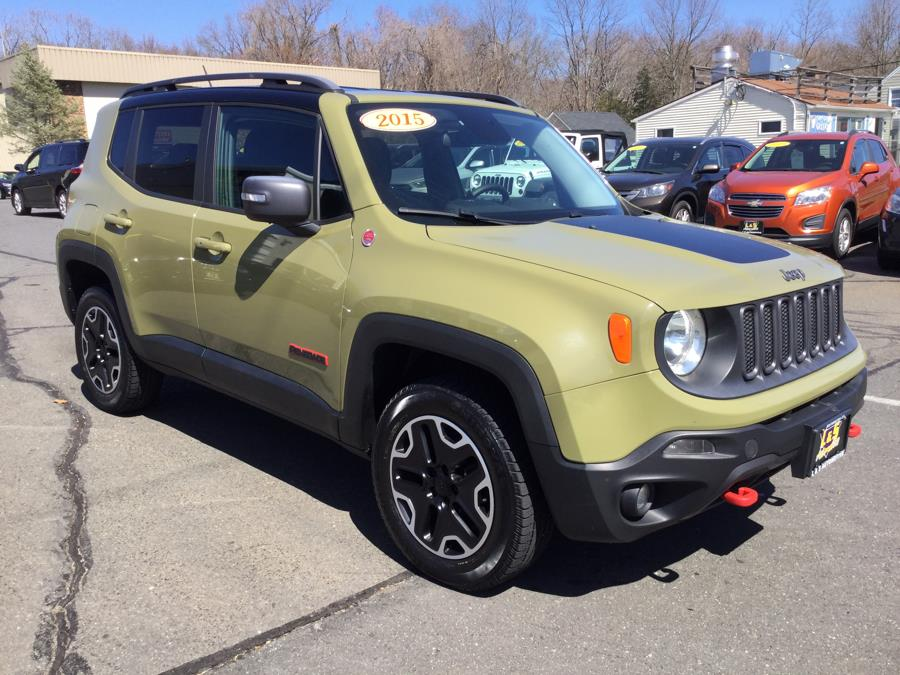 Used Jeep Renegade 4WD 4dr Trailhawk 2015 | L&S Automotive LLC. Plantsville, Connecticut