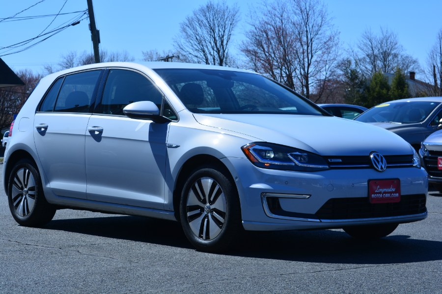 Used Volkswagen e-Golf 4-Door SEL Premium 2018 | Longmeadow Motor Cars. ENFIELD, Connecticut