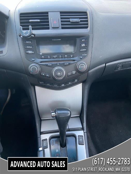 Used Honda Accord Cpe EX Auto V6 ULEV w/Leather 2003 | Advanced Auto Sales. Rockland, Massachusetts