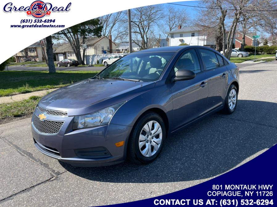 Used 2014 Chevrolet Cruze in Copiague, New York | Great Deal Motors. Copiague, New York
