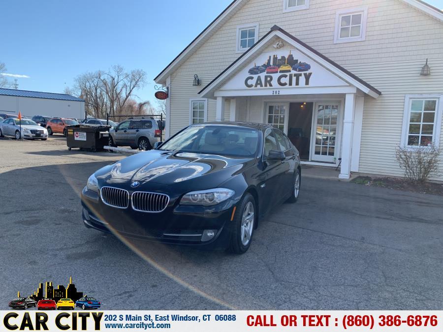 Used BMW 5 Series 4dr Sdn 528i RWD 2011 | Car City LLC. East Windsor, Connecticut