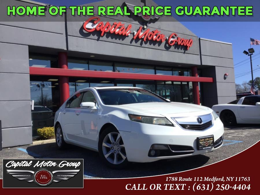 Used Acura TL 4dr Sdn Auto 2WD Tech 2013 | Capital Motor Group Inc. Medford, New York