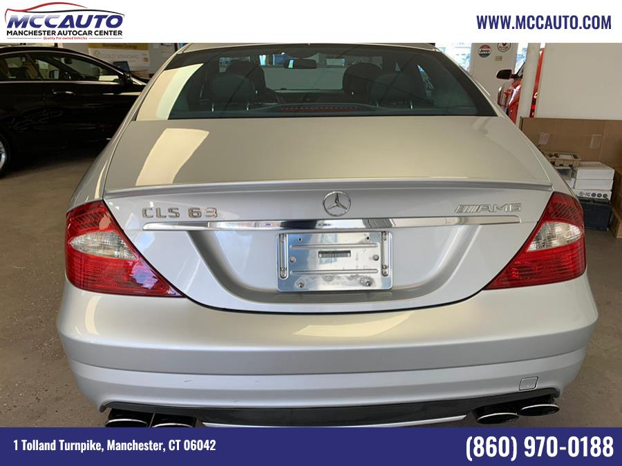 Used Mercedes-Benz CLS-Class 4dr Sdn 6.3L AMG 2008 | Manchester Autocar Center. Manchester, Connecticut