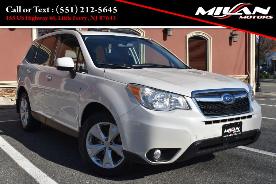 Used Subaru Forester 4dr CVT 2.5i Limited PZEV 2015   Milan Motors. Little Ferry , New Jersey