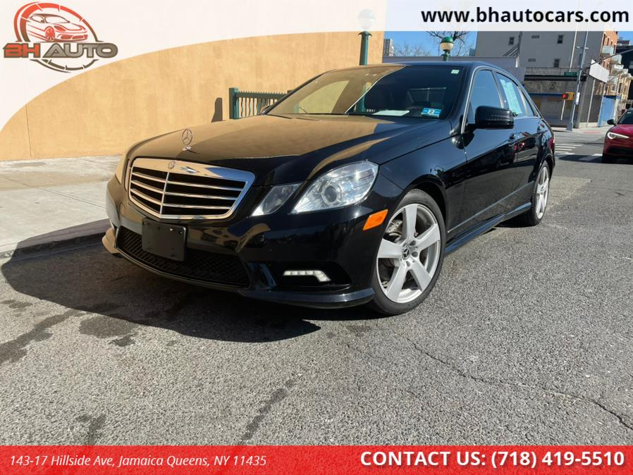 Used Mercedes-Benz E-Class 4dr Sdn E 350 Sport 4MATIC 2011 | BH Auto. Jamaica Queens, New York