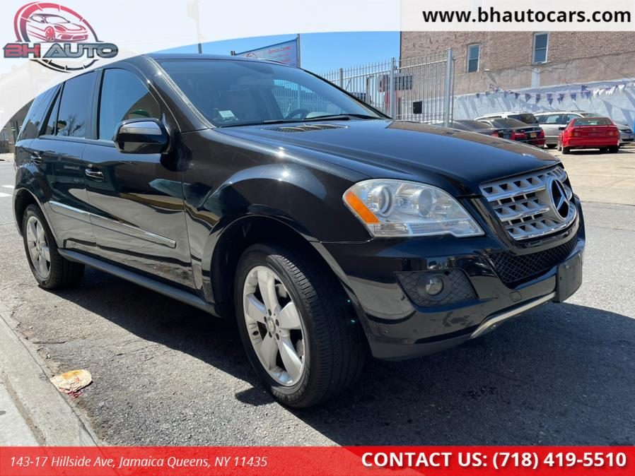 Used Mercedes-Benz M-Class 4MATIC 4dr 3.5L 2009   BH Auto. Jamaica Queens, New York