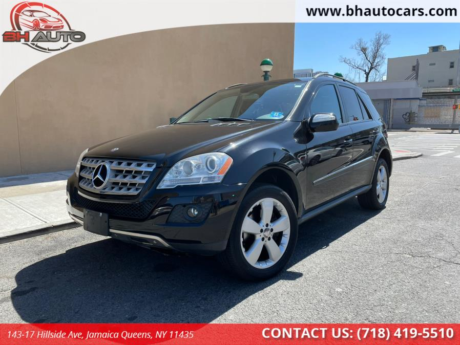 Used Mercedes-Benz M-Class 4MATIC 4dr 3.5L 2009 | BH Auto. Jamaica Queens, New York