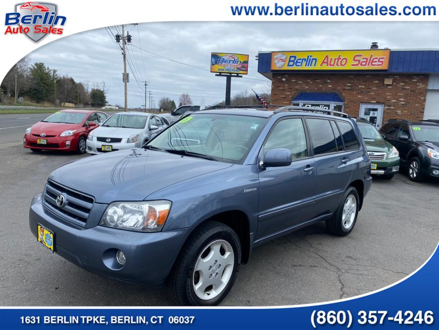 Used 2005 Toyota Highlander in Berlin, Connecticut | Berlin Auto Sales LLC. Berlin, Connecticut