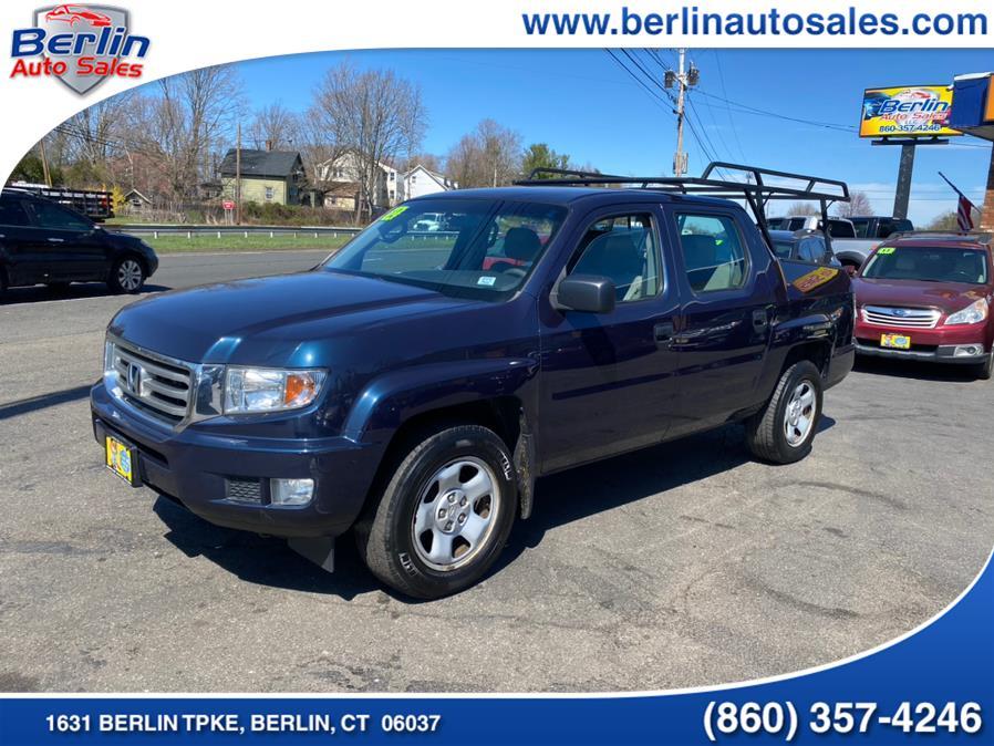 Used 2012 Honda Ridgeline in Berlin, Connecticut | Berlin Auto Sales LLC. Berlin, Connecticut