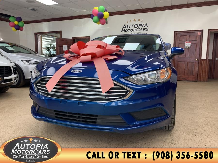 Used Ford Fusion SE FWD 2017 | Autopia Motorcars Inc. Union, New Jersey