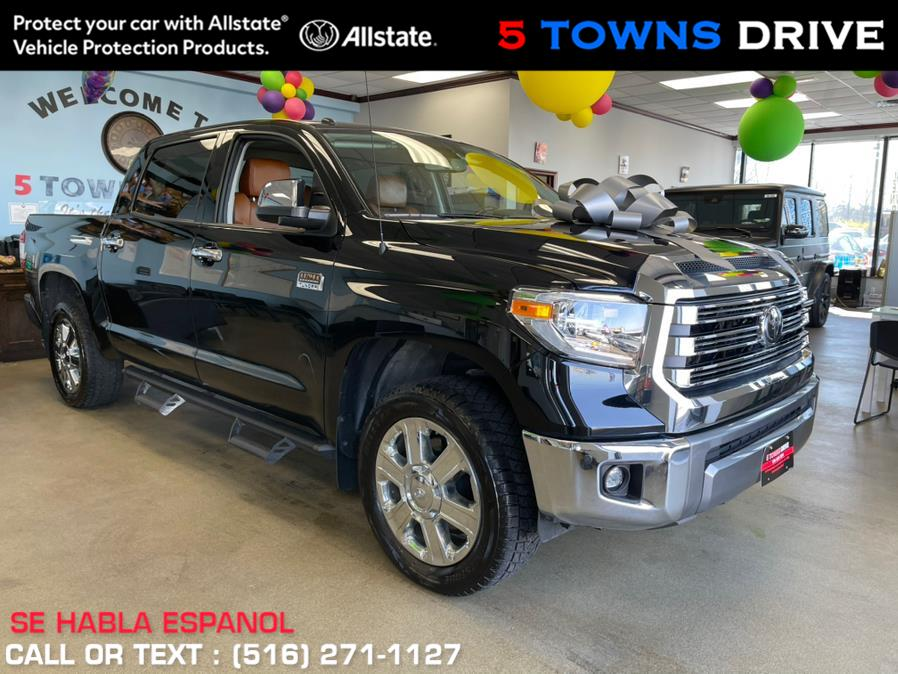 Used Toyota Tundra 4WD 1794 Edition CrewMax 5.5'' Bed 5.7L (Natl) 2018 | 5 Towns Drive. Inwood, New York