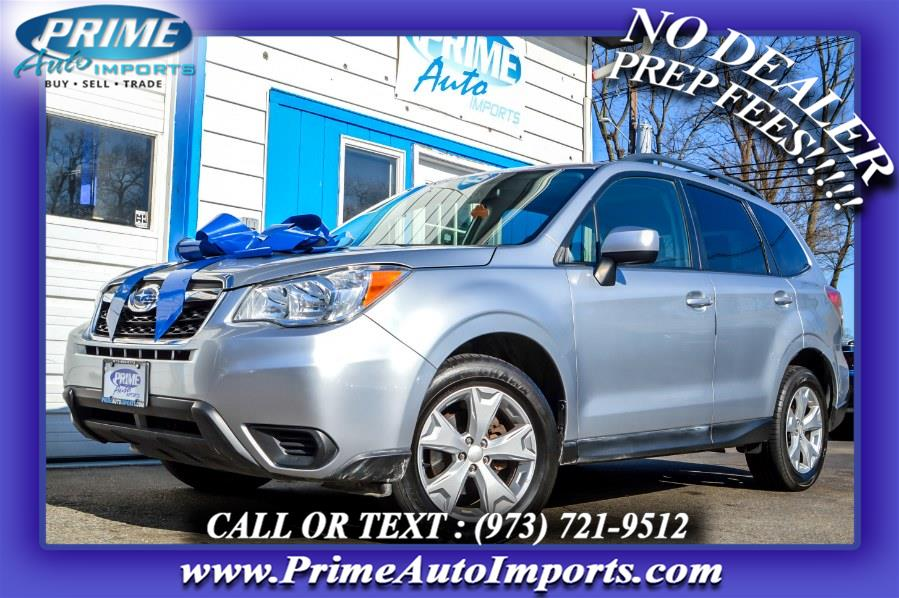 Used 2015 Subaru Forester in Bloomingdale, New Jersey | Prime Auto Imports. Bloomingdale, New Jersey