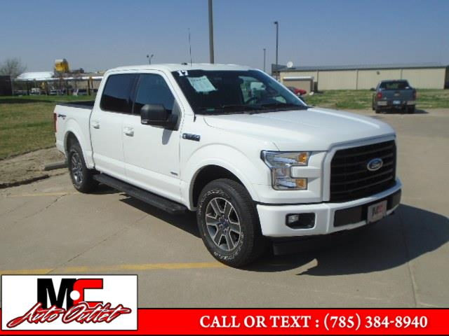 Used Ford F-150 XLT 4WD SuperCrew 5.5'' Box 2017 | M C Auto Outlet Inc. Colby, Kansas