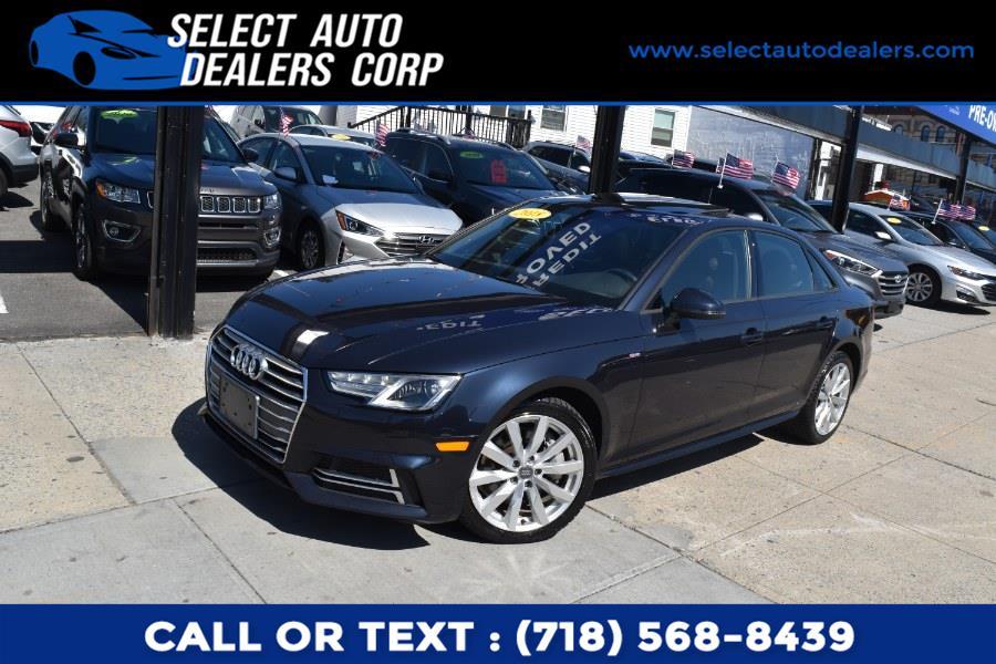 Used Audi A4 2.0 TFSI Tech Premium S Tronic quattro AWD 2018   Select Auto Dealers Corp. Brooklyn, New York