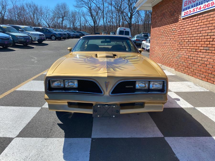 Used Pontiac Trans am 2dr Coupe Trans Am 1978 | National Auto Brokers, Inc.. Waterbury, Connecticut