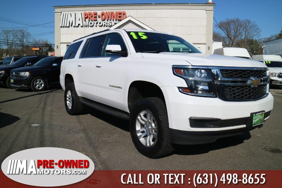 Used Chevrolet Suburban 4WD 4dr LT 2015 | M & A Motors. Huntington, New York