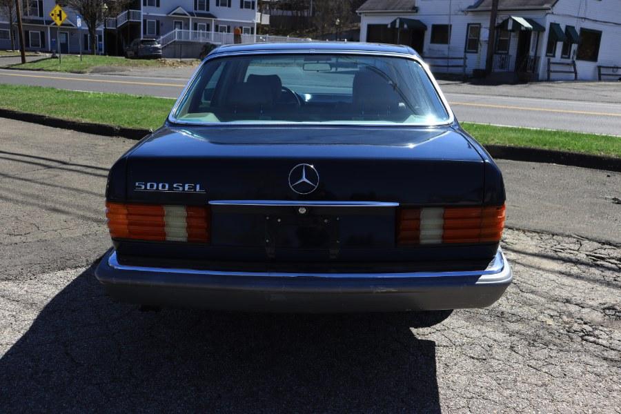 Used Mercedes-Benz 500 Series 4dr Sedan 500SEL 1985 | Performance Imports. Danbury, Connecticut