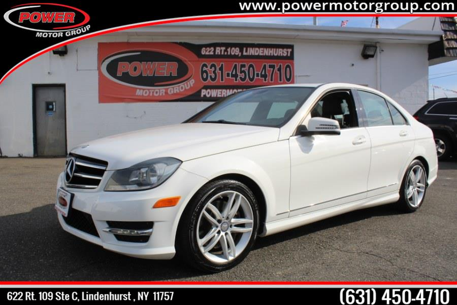 Used Mercedes-Benz C-Class 4dr Sdn C300 Sport 4MATIC 2014 | Power Motor Group. Lindenhurst , New York
