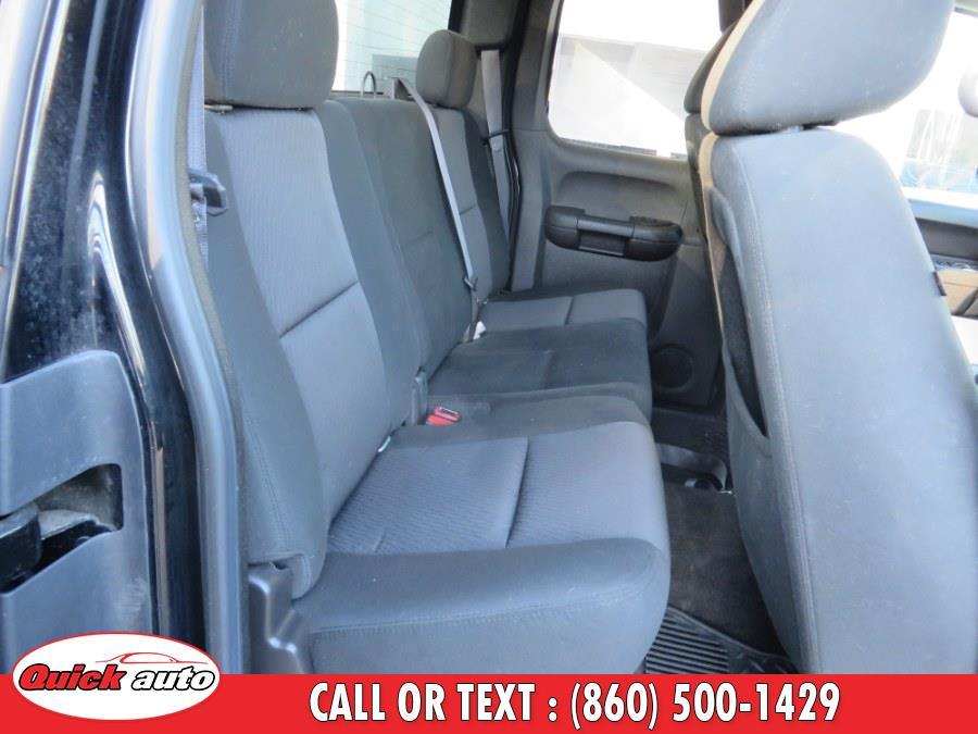 "Used Chevrolet Silverado 1500 4WD Ext Cab 143.5"" LT 2011   Quick Auto LLC. Bristol, Connecticut"