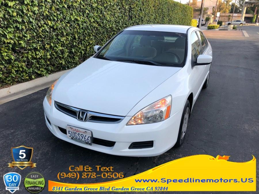 Used Honda Accord Sdn LX AT 2006 | Speedline Motors. Garden Grove, California