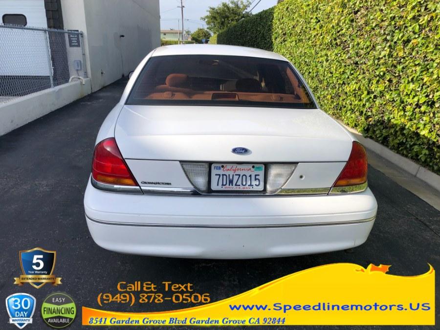 Used Ford Crown Victoria 4dr Sdn 2000 | Speedline Motors. Garden Grove, California