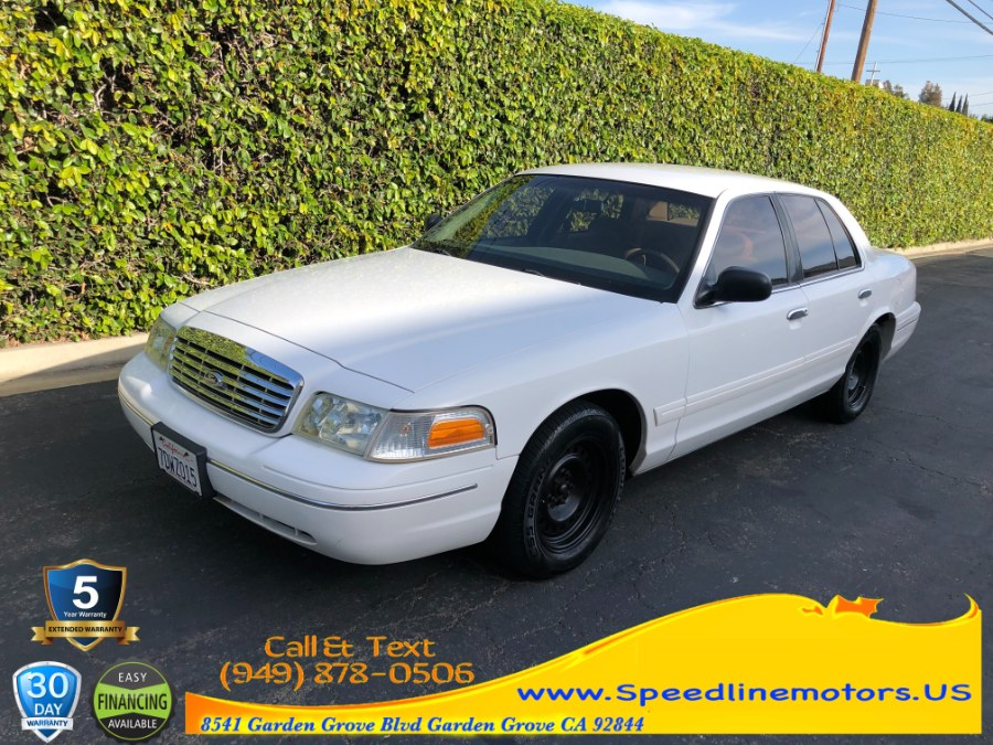 Used 2000 Ford Crown Victoria in Garden Grove, California | Speedline Motors. Garden Grove, California