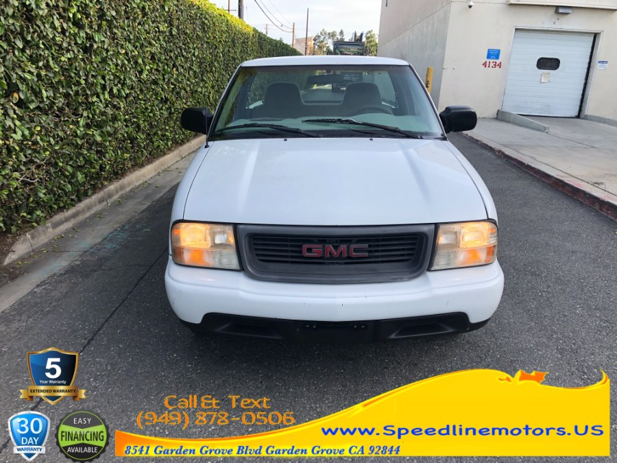 "Used GMC Sonoma Reg Cab 108"" WB SL 2000 | Speedline Motors. Garden Grove, California"