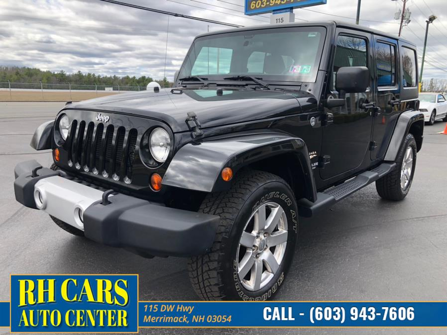 Used Jeep Wrangler Unlimited Sahara 4WD 2012 | RH Cars LLC. Merrimack, New Hampshire