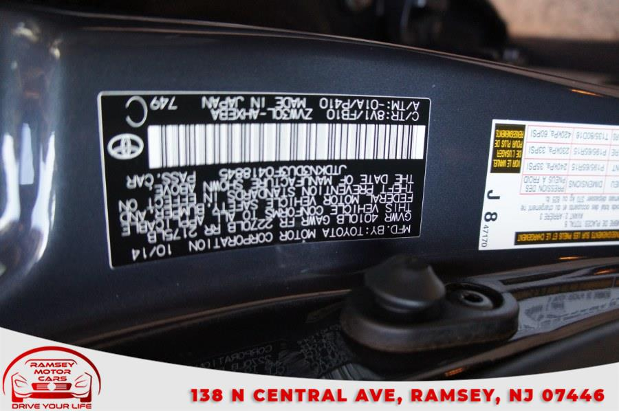 Used Toyota Prius 5dr HB Two (Natl) 2015   Ramsey Motor Cars Inc. Ramsey, New Jersey