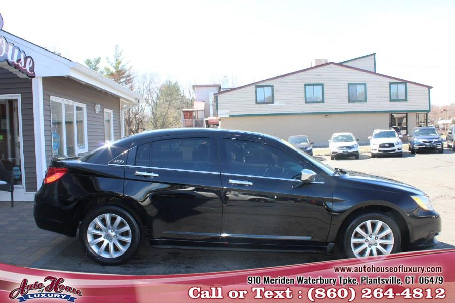 Used Chrysler 200 4dr Sdn Limited 2013 | Auto House of Luxury. Plantsville, Connecticut
