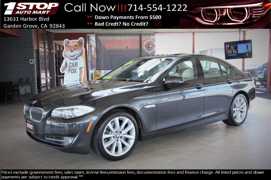 Used BMW 5 Series 4dr Sdn 535i RWD 2011 | 1 Stop Auto Mart Inc.. Garden Grove, California