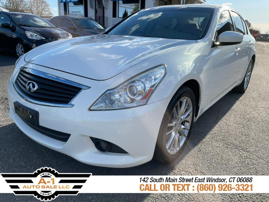 Used 2011 INFINITI G37 Sedan in East Windsor, Connecticut | A1 Auto Sale LLC. East Windsor, Connecticut