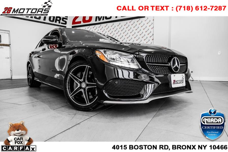 Used Mercedes-Benz C-Class 4dr Sdn C 450 AMG 4MATIC 2016   26 Motors Corp. Bronx, New York