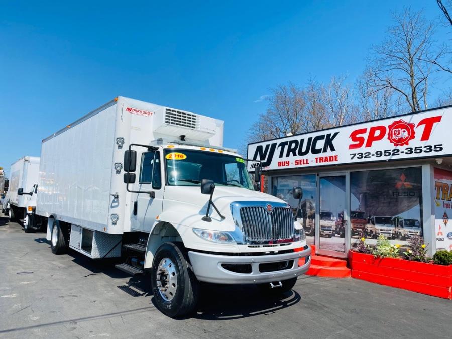 Used INTERNATIONAL 4300 REFRIGERATED + CUMMINS ENGINE + LIFT GATE +THERMOK 2016   NJ Truck Spot. South Amboy, New Jersey