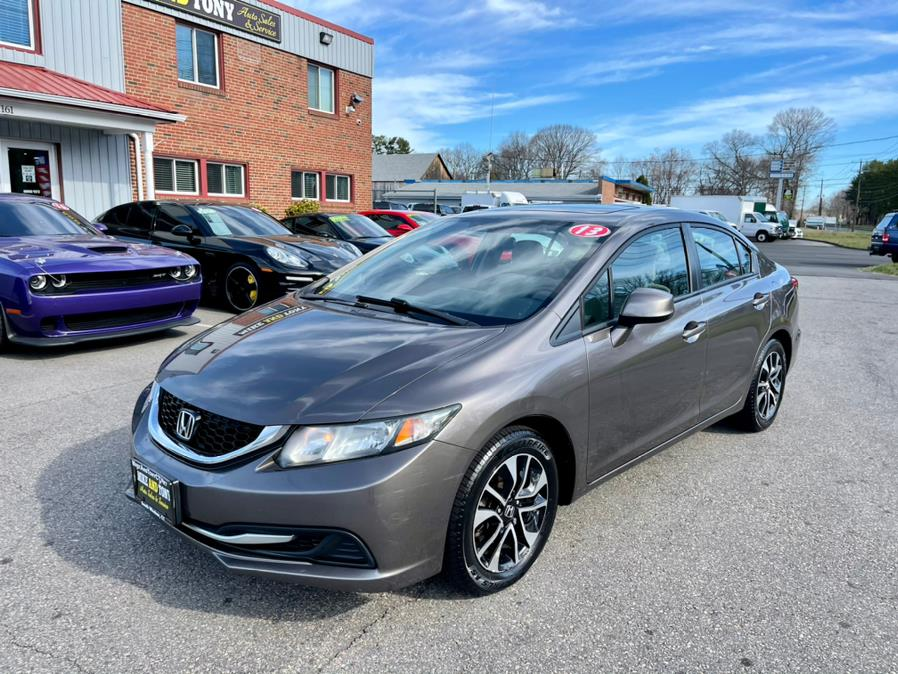 Used Honda Civic Sdn 4dr Auto EX 2013   Mike And Tony Auto Sales, Inc. South Windsor, Connecticut