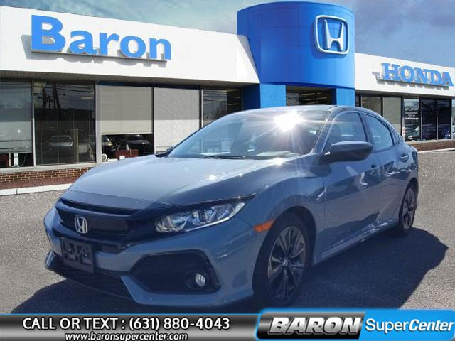 Used 2018 Honda Civic Hatchback in Patchogue, New York | Baron Supercenter. Patchogue, New York